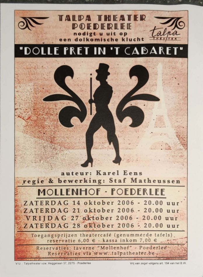 Dolle Pret in't Cabaret